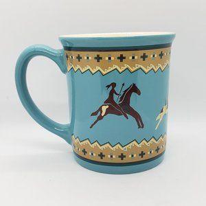 Pendleton Native American Design Mug Blue Large